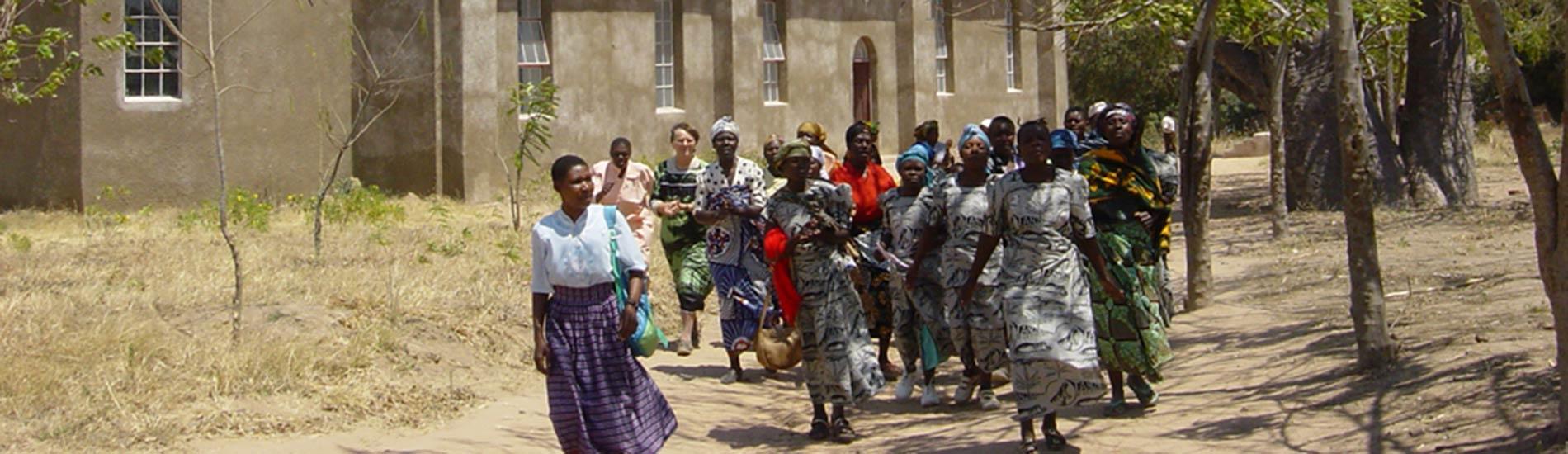 Künstlermeile Haar 2014: Besuch aus Ilembula